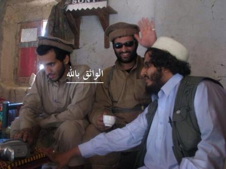 This picture surfaced soon after Sanafi an-Nasr was killed. He is shown on the far-left.
