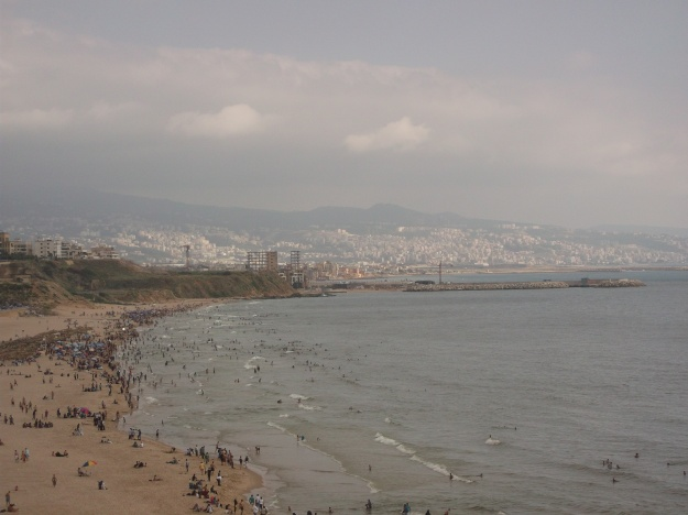 Beach-front in Jnah, Beirut