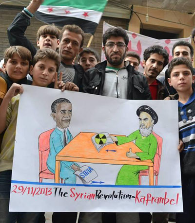 As usual the people of Kafranbel saw through Obama (Nov. 29, 2013)