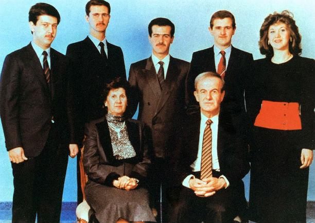 A grisly brood: The Assad family
