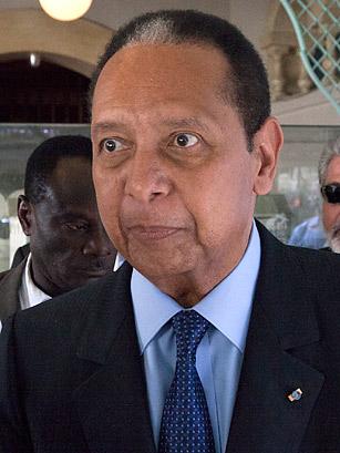 Jean-Claude Duvalier in 2011