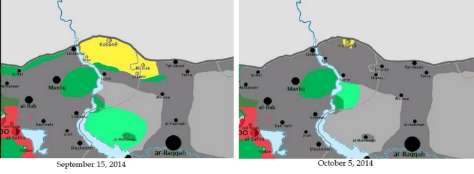 (2014-10-05)- Situation in Kobane (Ayn al-Arab)