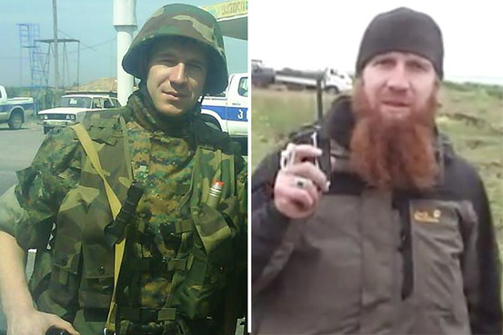 Abu Omar a-Shishani, while in Georgian military, now as I.S. leader in Syria/Iraq