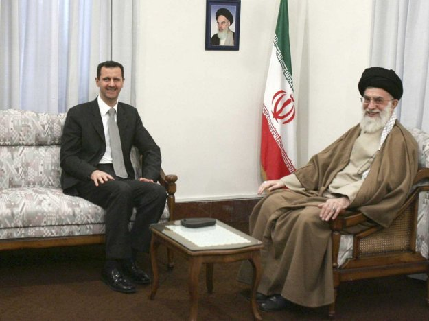 Assad meeting with the boss