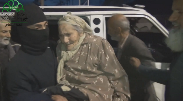 (2014-04-05)- Islamic Front help old people, Kessab 1