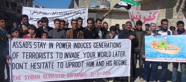 Kafranbel gets it