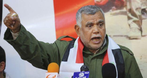Badr Corp commander Hadi al-Ameri