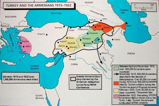 #Armenian genocide waves