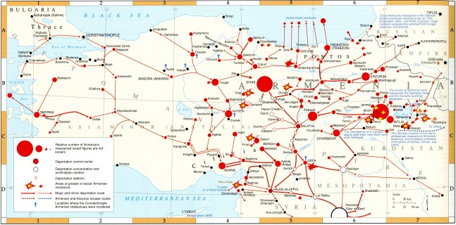 #Map of Armenian genocide 2