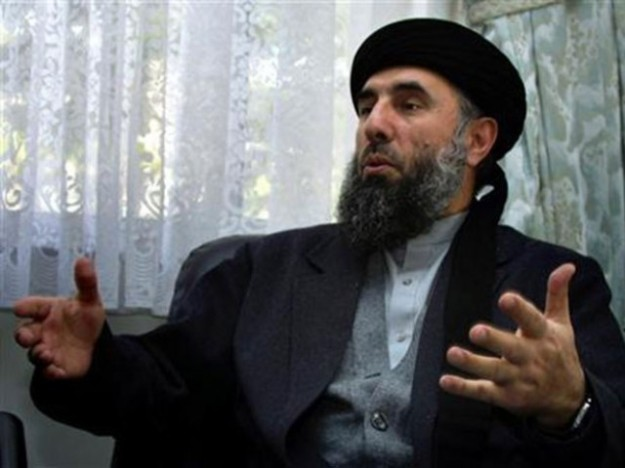 Gulbuddin Hekmatyar, one of the three major insurgent leaders in Afghanistan, a close ally of Iran