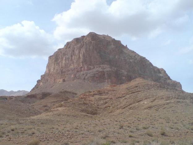 Girdkuh fortress, northern Iran