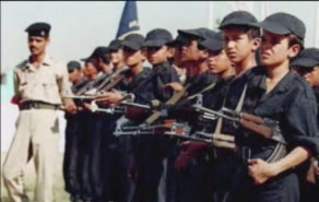Fedayeen Saddam propaganda video, children's training camp