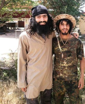 Amr al-Absi, a.k.a. Abu Atheer al-Absi (left)