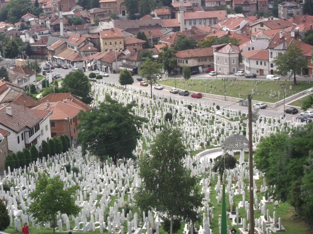 War cemetery in Sarajevo (personal picture, July 2011)