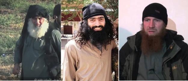 Abd al-Rahman al-Qaduli, Amr al-Absi, Tarkhan Batirashvili
