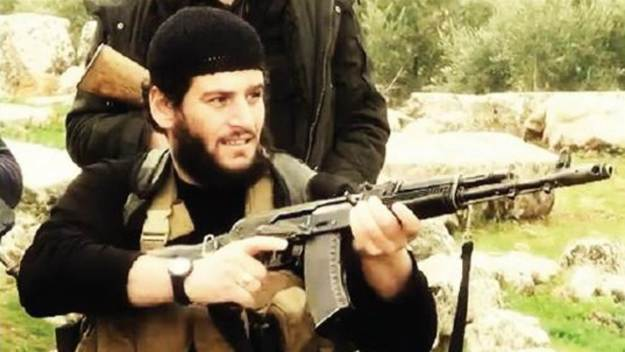 Islamic State's spokesman and Syrian governor, Taha Subhi Falaha (Abu Muhammad al-Adnani)