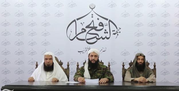 Ahmad Salama Mabruk (Abu Faraj al-Masri), Ahmad al-Shara (Abu Muhammad al-Jolani), Abdulrahim Attuon (Abu Abdullah al-Shami)