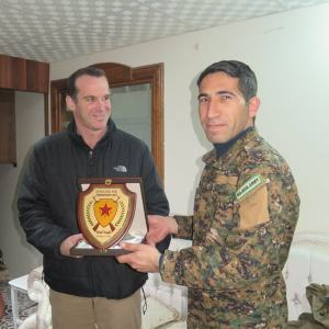 Brett McGurk meeting Polat Can
