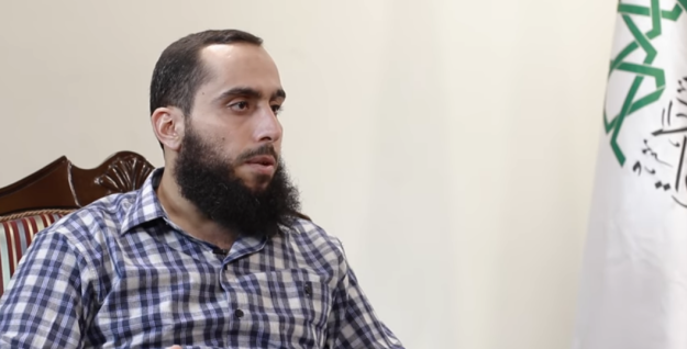 Ahrar al-Sham's leader, Ali al-Umar (Abu Ammar)