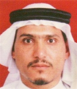One of the few existing pictures of Abu Hamza al-Muhajir (Abdul Munim al-Badawi)