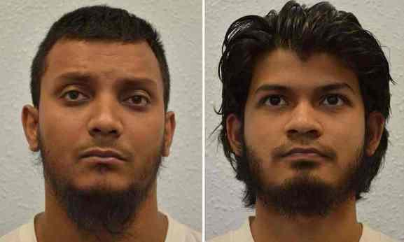 Junead Khan (left) and Shazib Khan (right)